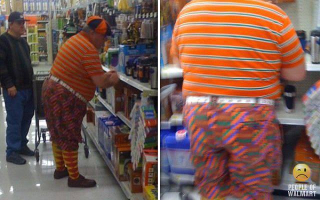 Najdziwniejsi klienci z WalMart #6 21