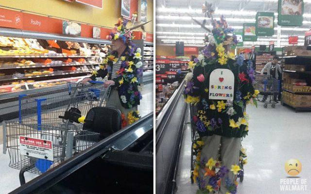 Najdziwniejsi klienci z WalMart #6 35