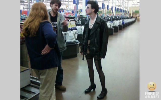 Najdziwniejsi klienci z WalMart #6 10