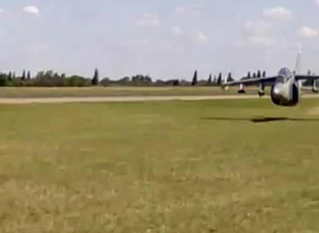 Para que vean los huevos que tienen los pilotos argentinos