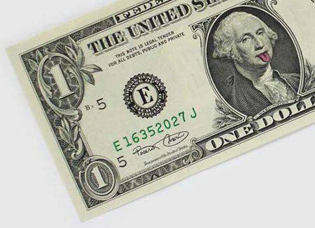 Banknoty 1$ 2