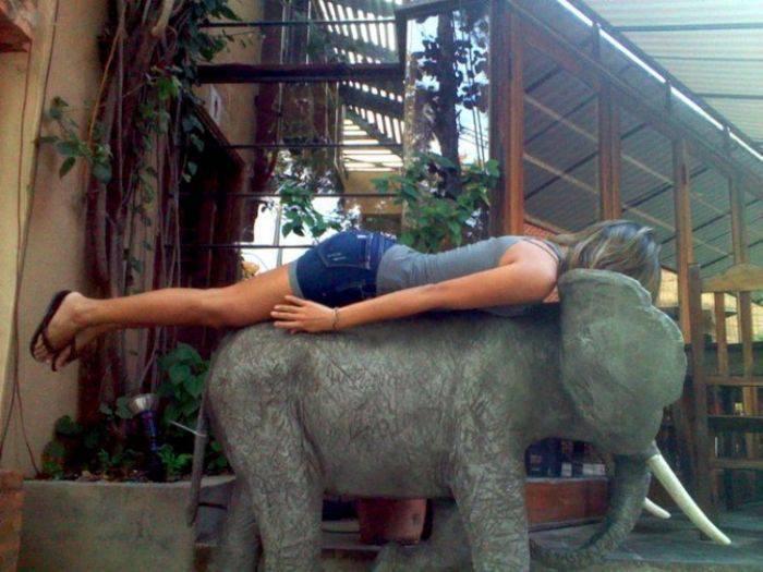 Planking - zabawa w leżenie 45