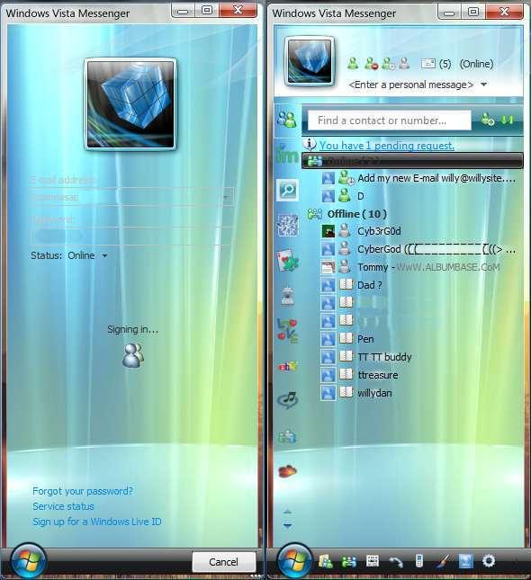 windows live messenger rencontre probleme 2010