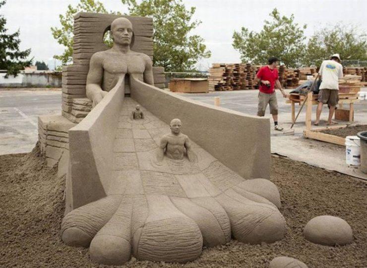 Najlepsze rzeźby z piasku na świecie. 2