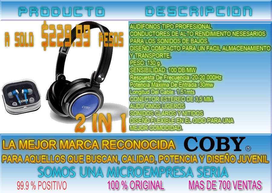 Coby mp610-4g