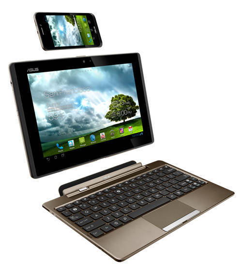 ASUS PadFone with keyboard dock