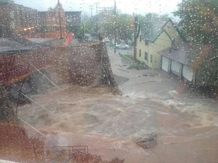 Powódź w Duluth 12