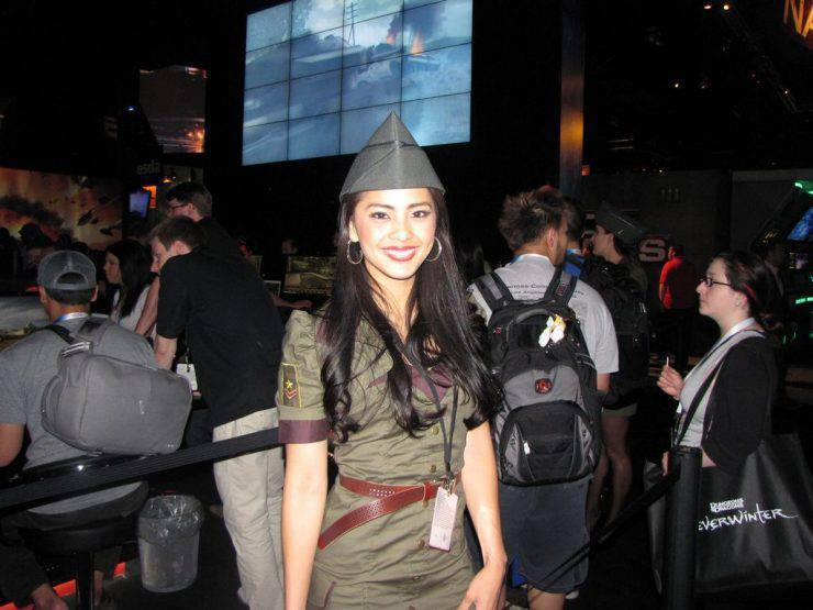 Dziewczyny z Targów E3 2012 31