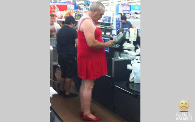 Najdziwniejsi klienci z WalMart #7 48