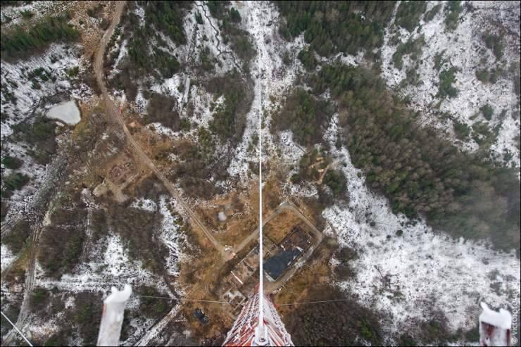 Widok z 350 metrowej wieży 18
