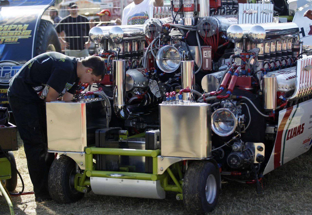 Wyścigi traktorów #3 9