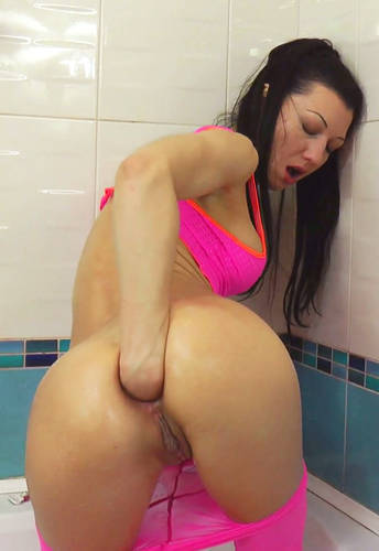 Balls, Fisting, Deep Ass and Pink Panties - HotKinkyJo (2012/ HD 1080p)