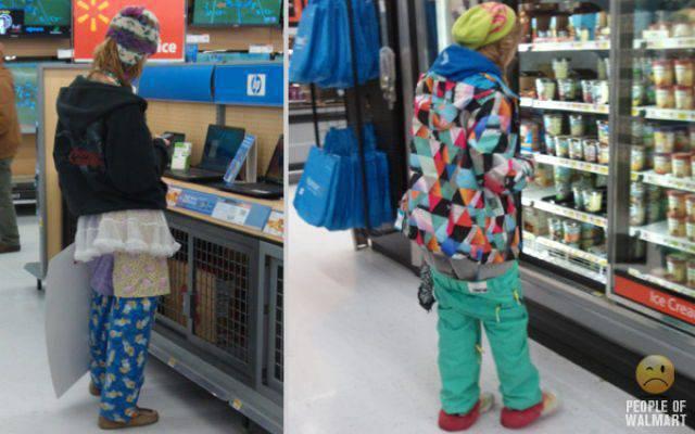 Najdziwniejsi klienci z WalMart #13 13