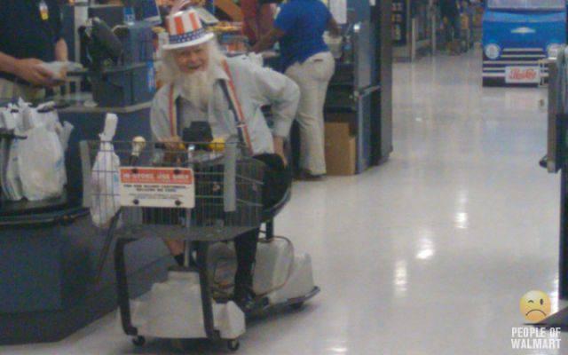 Najdziwniejsi klienci z WalMart #7 10