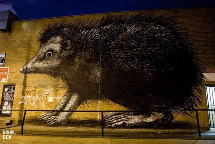 Najlepsze prace street artowców 6