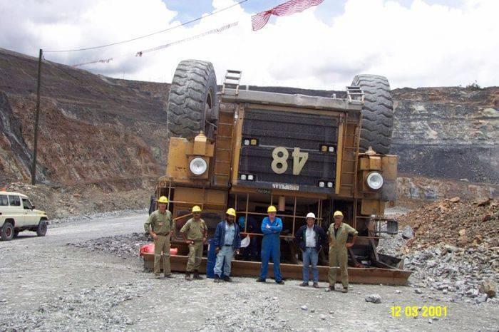 Wypadki największych ciężarówek 2