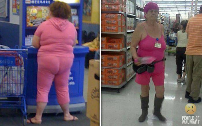 Najdziwniejsi klienci z WalMart #20 7