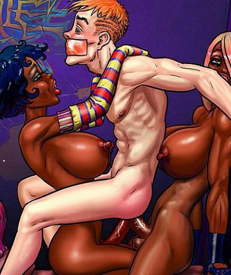 3д комиксы трансы