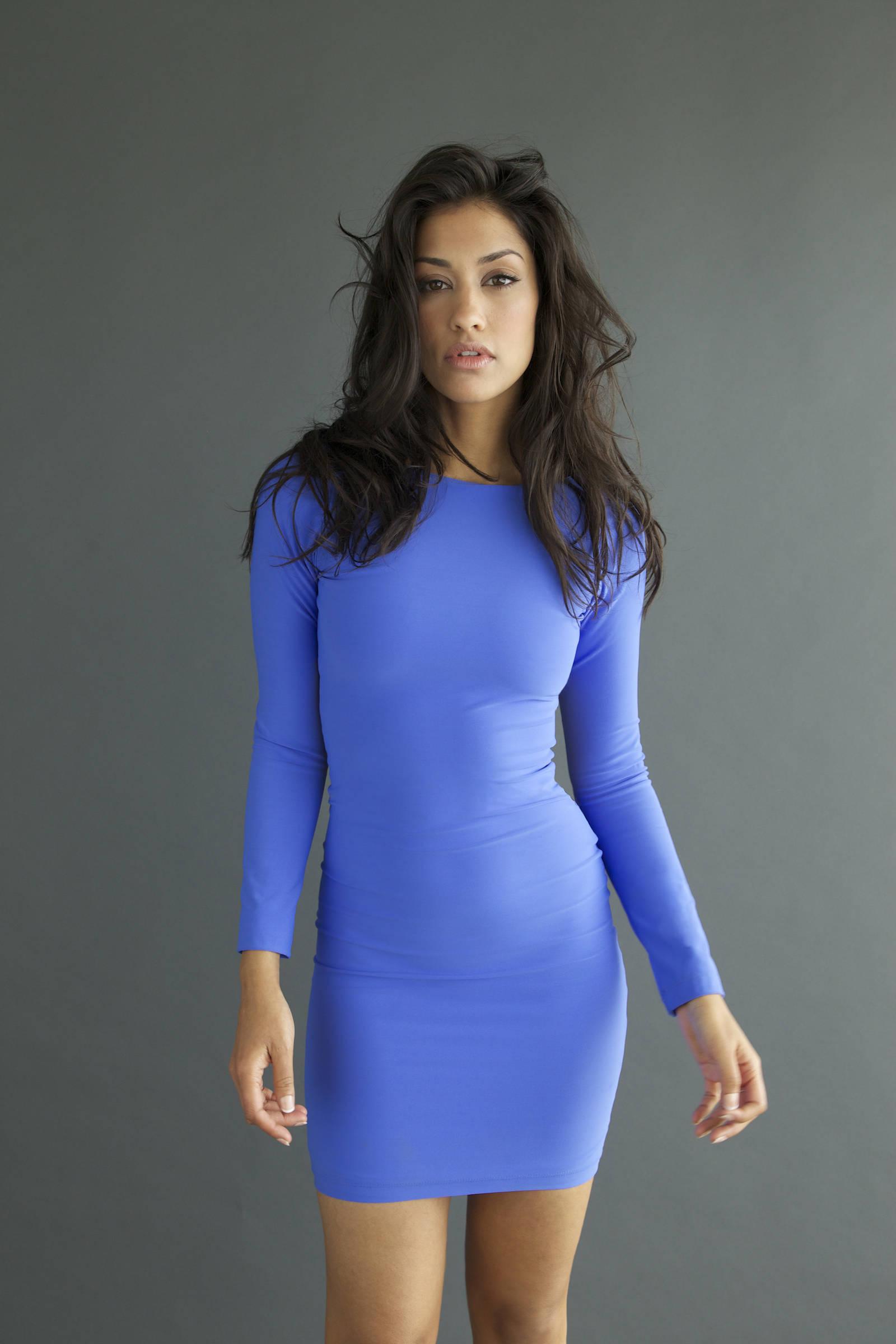 Фото обтягивающие платье