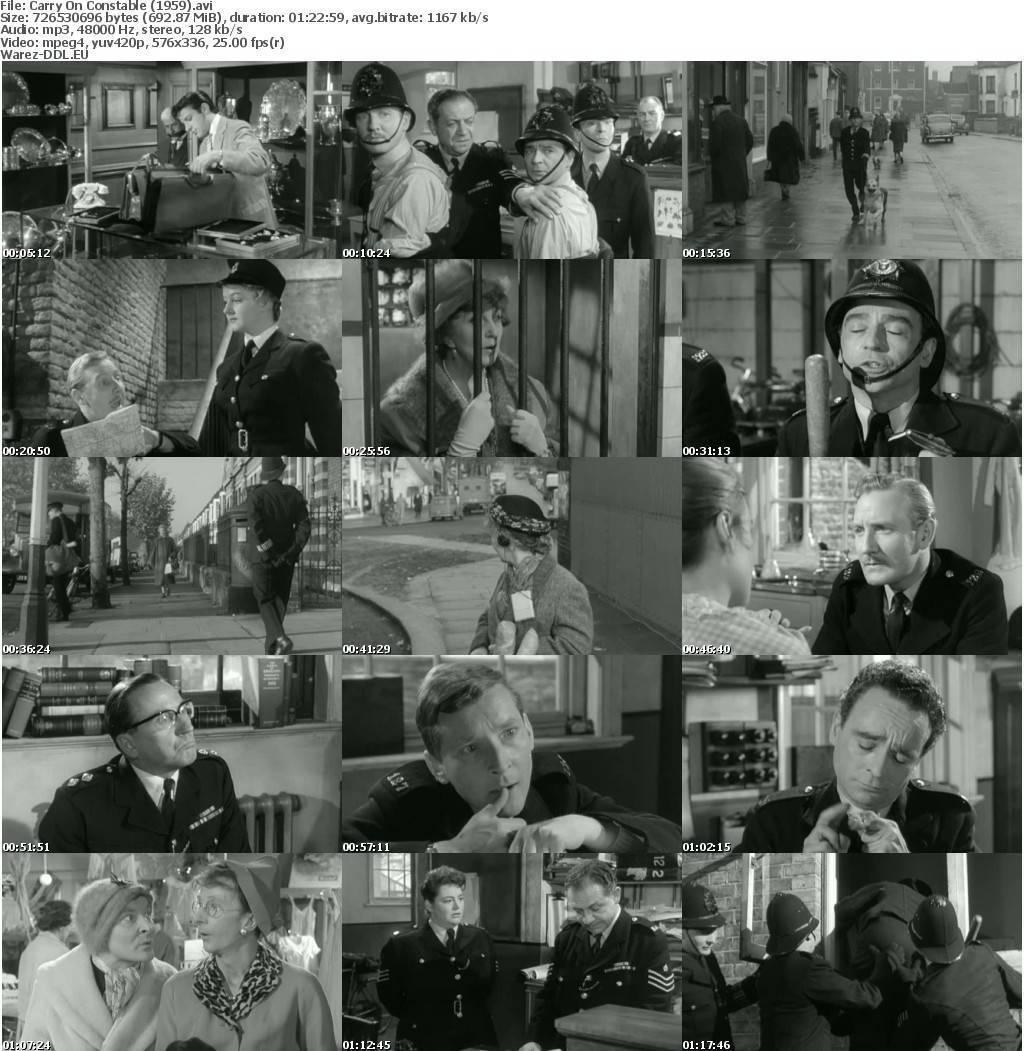 Carry On Constable (1959) avi Warez DDL.