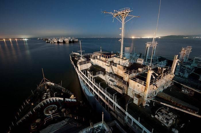 Cmentarzysko okrętów US Navy 8