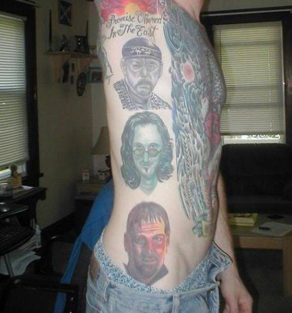 Nietypowe tatuaże #3 13