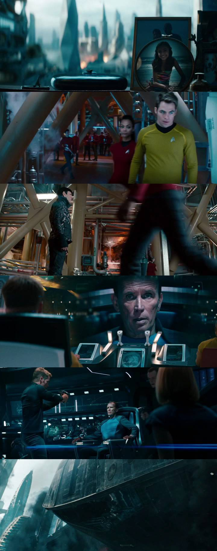 Download Star Trek Into Darkness (2013) DVDRip x264-HiGH   300MBLinks