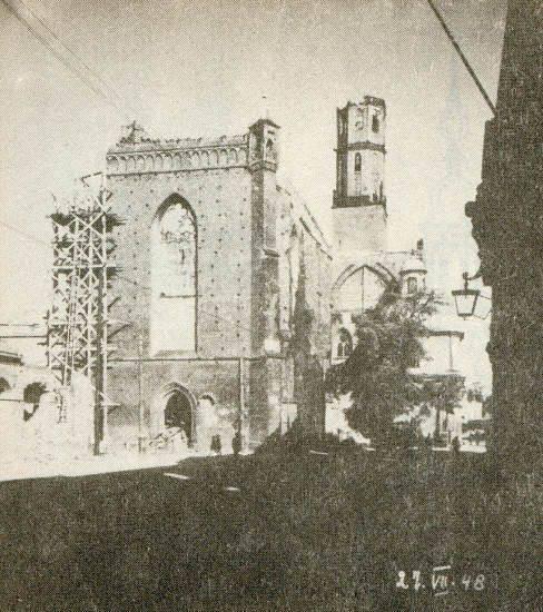 Wrocław  1945 Zniszczenia 6