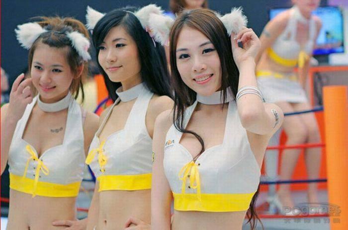 Dziewczyny z ChinaJoy 2010 2