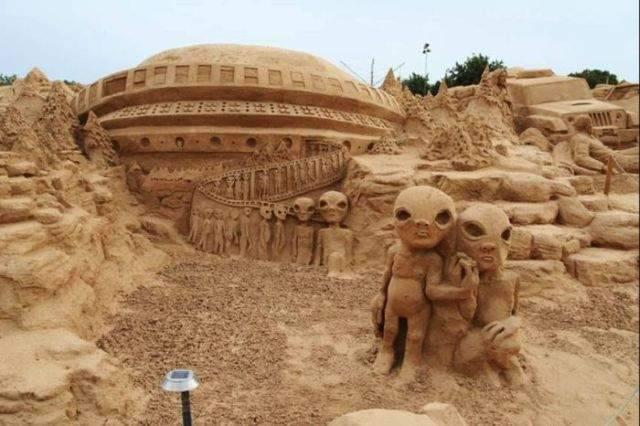 Rzeźby w piasku #2 45