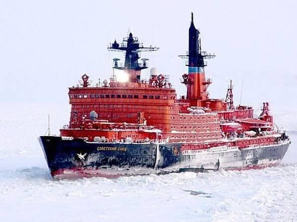Arktyczna podróż atomowym lodołamaczem 19
