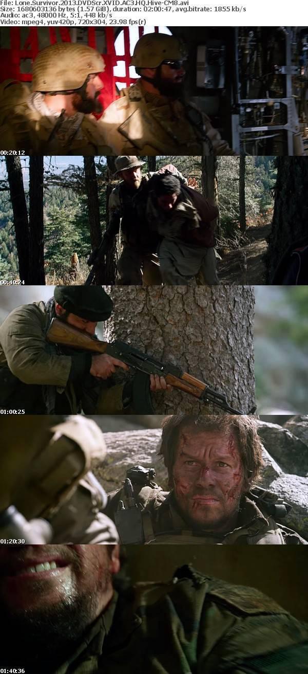 Lone Survivor (2013) DVDScr XVID AC3 HQ Hive-CM8