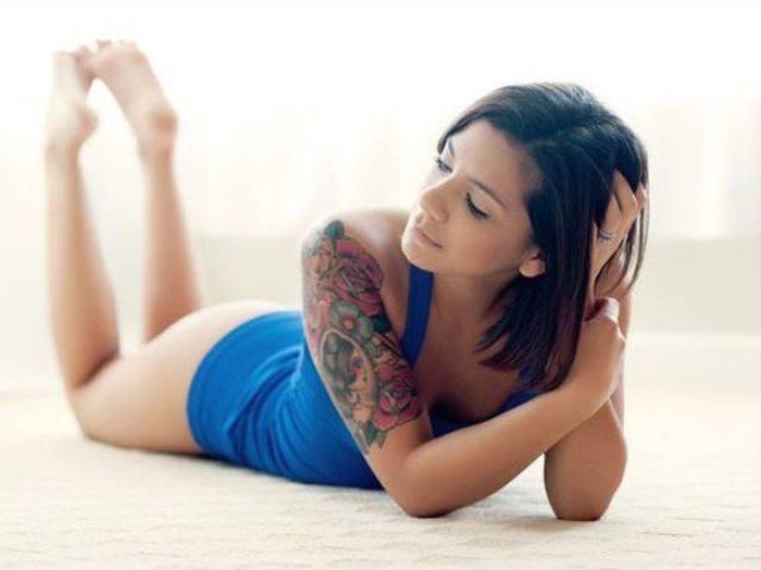Dziewczyny z tatuażami #5 8