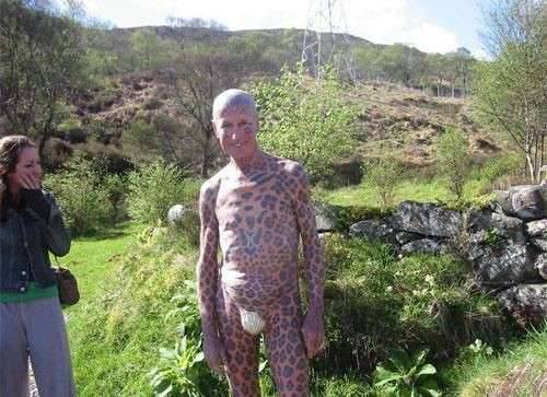 Tom Leppard - człowiek leopard 4