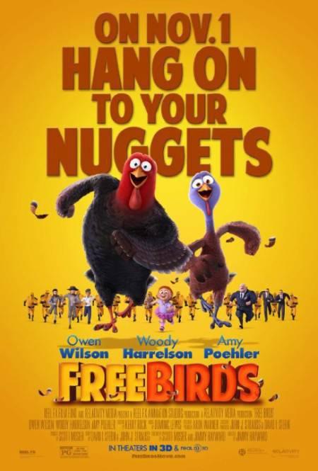 Free Birds (2013) 480p DVDRiP - 425MB - [ShAaNiG] - STR Aathi