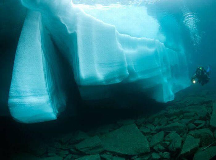 Nurkowanie pod lodem 4