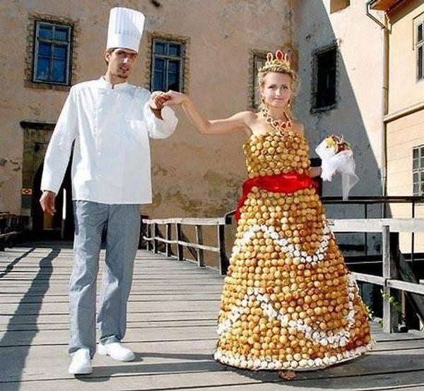 Oryginalne suknie ślubne 5