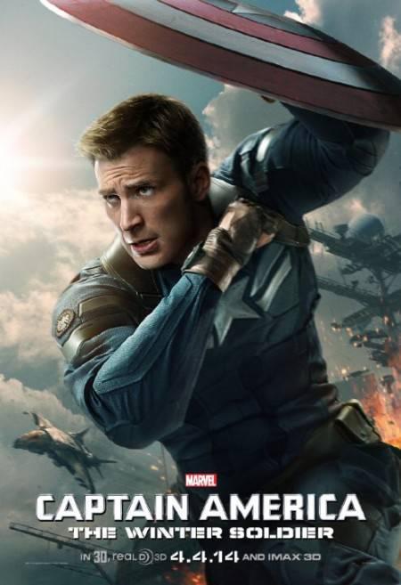 Captain America The Winter Soldier (2014) CAM X264-P2P