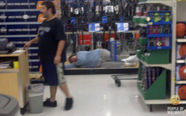 Najdziwniejsi klienci z WalMart #4 36