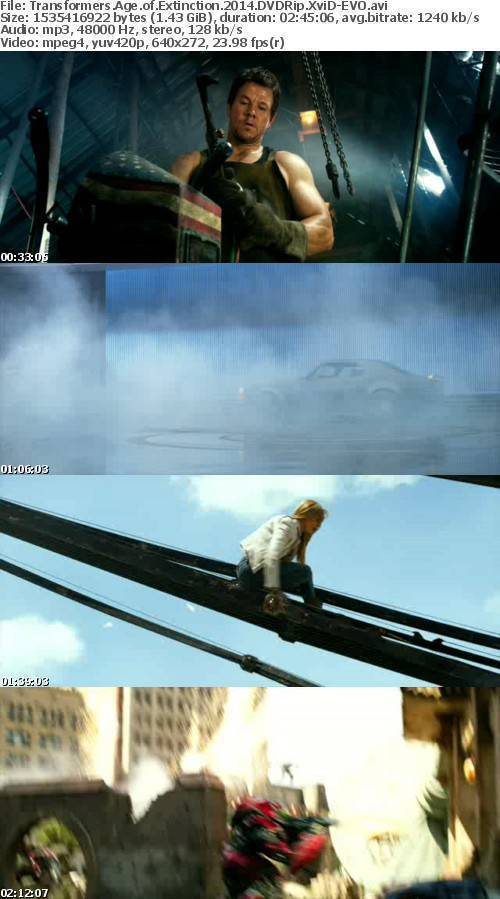 Transformers Age of Extinction 2014 DVDRip XviD-EVO