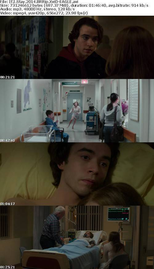 If I Stay 2014 BRRip XviD-EAGLE