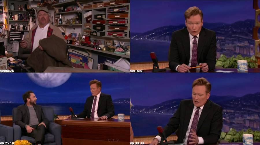 Conan 2014 11 19 Charlie Day Images,Pictures,Photos,Screenshots,Preview