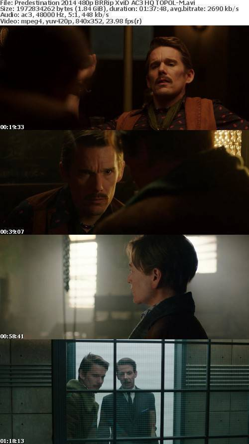 Predestination 2014 480p BRRip XviD AC3 HQ TOPOL-M