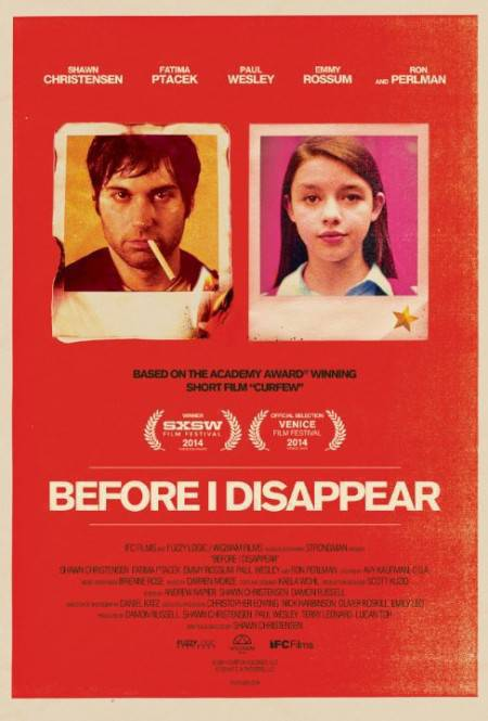 Before I Disappear 2014 HDRip X264 AAC-Monster