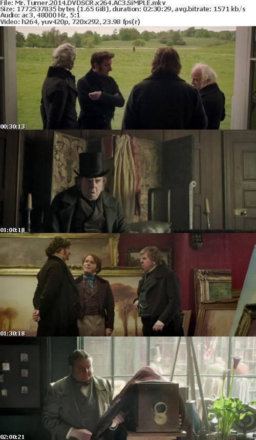 Mr Turner 2014 DVDSCR x264 AC3 SiMPLE