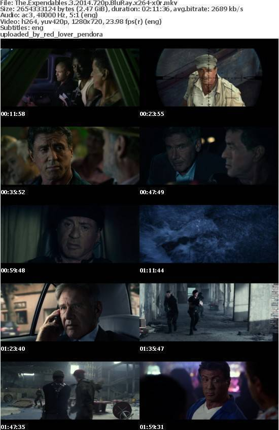 The Expendables 3 2014 720p BluRay x264 x0r