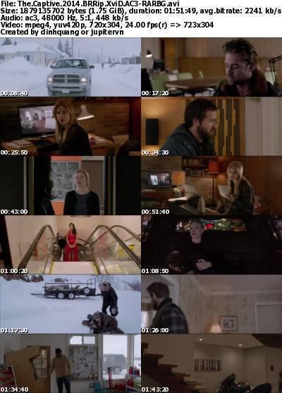 The Captive (2014) BRRip XviD AC3-RARBG