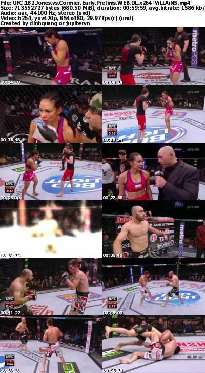 UFC 182 Jones vs Cormier Early Prelims WEB-DL x264-ViLLAiNS