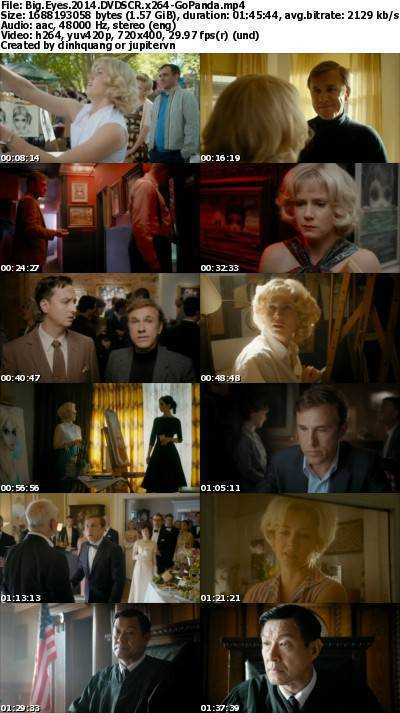 Big Eyes (2014) DVDSCR x264-GoPanda