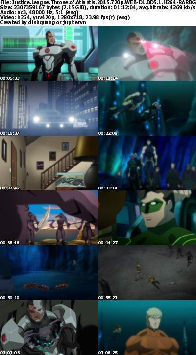 Justice League Throne of Atlantis (2015) 720p WEB-DL DD5.1 H264-RARBG